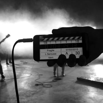 Fragile – Tournage du clip JE COURS février 2015 – 02