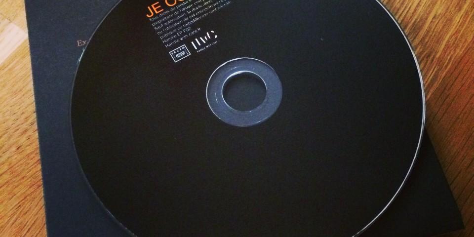 'JE COURS' single 1 CD (radio edit)